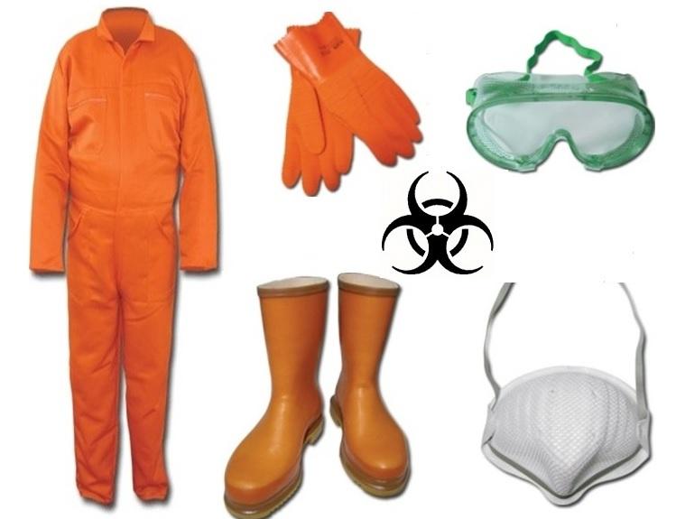 Tıbbi Atık Toplama Kıyafeti