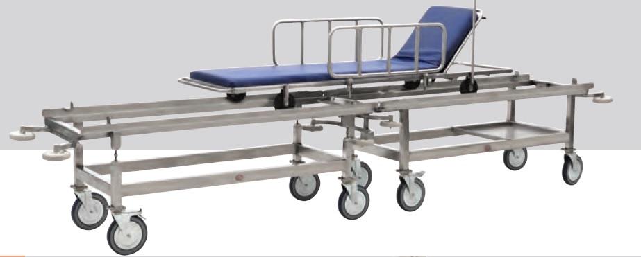 Paslanmaz Çelik Hasta Transfer Sedyesi