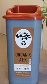 Organik Atık Kabı 60 lt Sıfır Atık