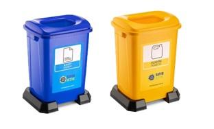 İkili Sıfır Atık İstasyonu Kağıt Atık Serisi