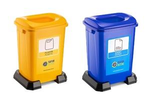 İkili Sıfır Atık İstasyonu Plastik Atık Serisi